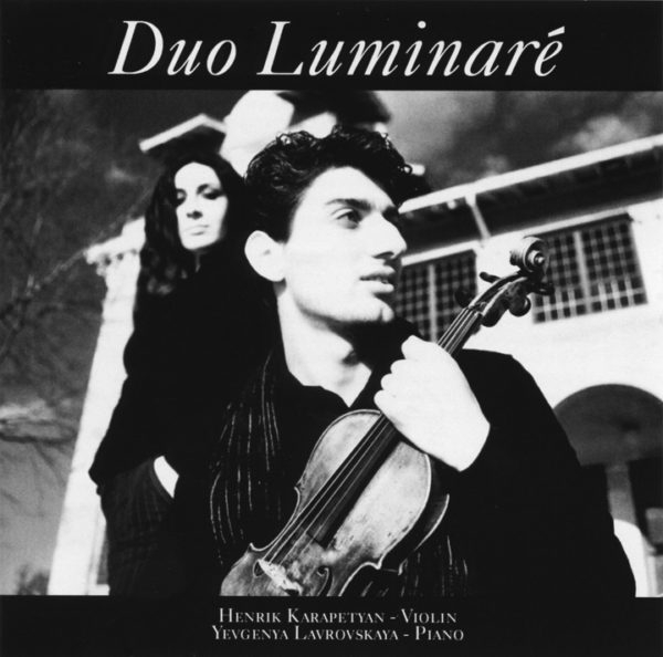 Duo Luminare CD front